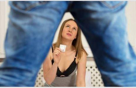 コンドーム装着中の緊張